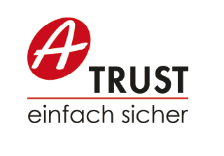 BioID customer A-Trust logo