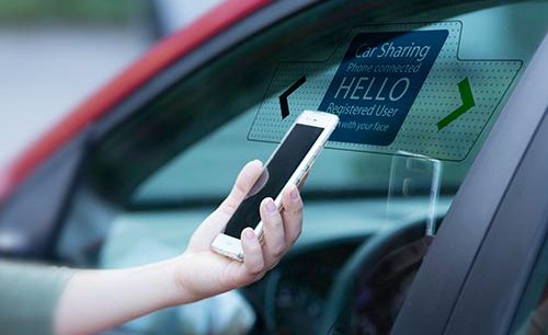 car rentals and sharing with biometrics