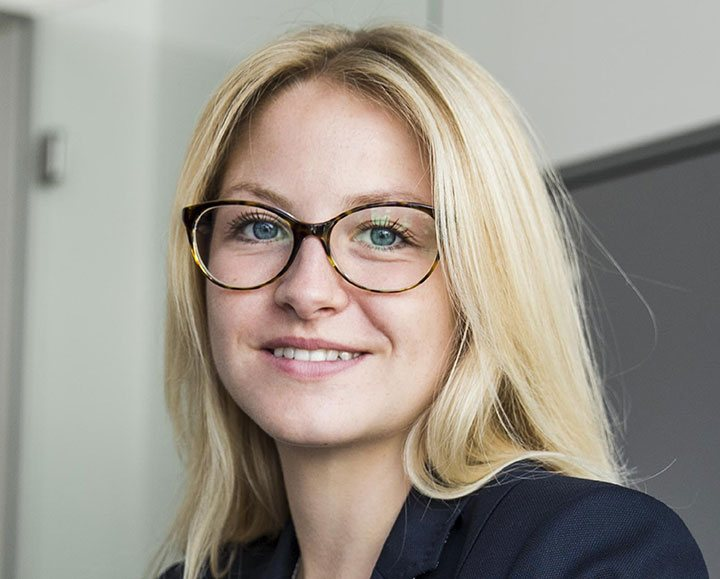 BioID Team: Ann-Kathrin Schmitt, Marketing Manager