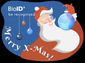 BioID Biometrics wishes Merry X-Mas in the year of AI
