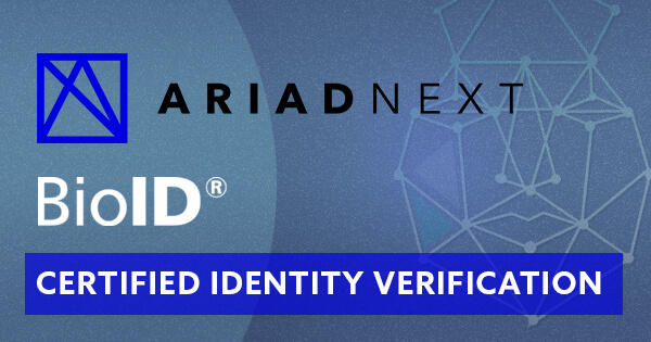 FIDO biometric certification BioID liveness detection ARIADNEXT