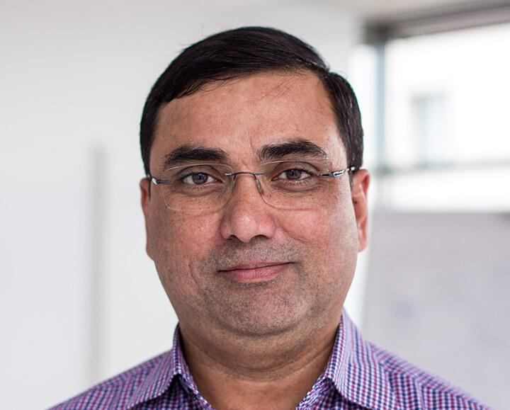 BioID Team: Dr. Ajay K. Jha, PRESIDENT, INDIA