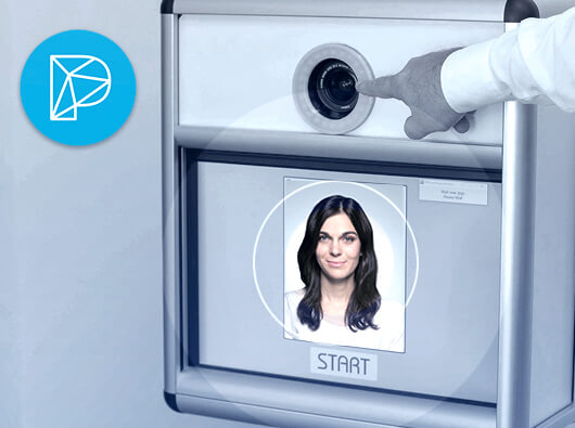 BioID QualityCheck API for automated biometric ID photos used in Photobooth-Deluxe photobox