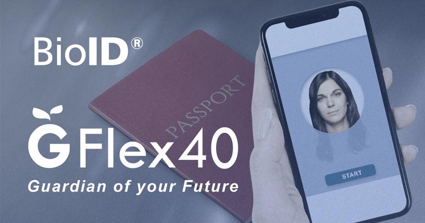 Insurance application with biometric identity verification